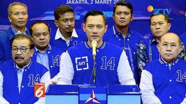 Agus Harimurti Yudhoyono gelar rapat konsolidasi kemenangan Partai Demokrat untuk Pemilu 2019.