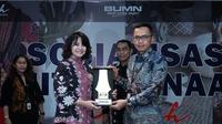 Komitmen PT. Bank Rakyat Indonesia (Persero) Tbk.dan PT Sarinah (Persero) untuk memajukan UMKM Indonesia.