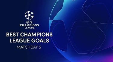 Berita video 5 gol terbaik Liga Champions matchday 5, salah satunya gol Antoine Griezmann saat Barcelona melawan Ferencvaros