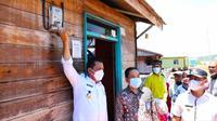 Peresmian pemakaian listrik di desa terpencil Kabupaten Lingga oleh PLN Riau dan Kepulauan Riau. (Liputan6.com/M Syukur)
