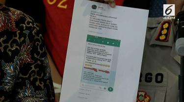 Polisi menetapkan tersangka baru kasus hoaks 7 kontainer surat suara tercoblos. Tersangka berprofesi sebagai guru di Cilegon.