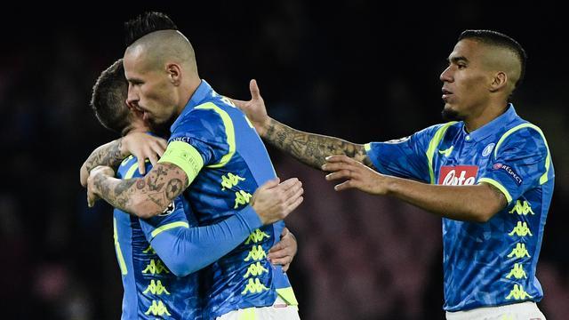 Napoli Perbesar Harapan Lolos ke 16 Besar