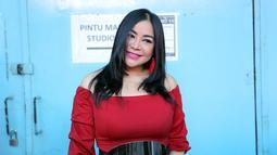 """""""Banyak hal yang enggak bisa saya ungkapkan. Yang pasti saya pikir ini keputusan yang tepat, karena ini menyangkut nama baik keluarga,"""" kata Anisa Bahar dilansir dari Liputan6. (Deki Prayoga/Bintang.com)"""