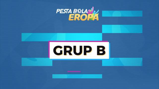 Berita motion grafis profil Grup B Euro 2020 (Euro 2021).