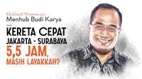 (Eksklusif) Wawancara Khusus Menteri Perhubungan Budi Karya Sumadi. (Abdilah/Liputan6.com)