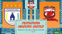 Shopee Liga 1 - Persipura Jayapura Vs Madura United (Bola.com/Adreanus Titus)