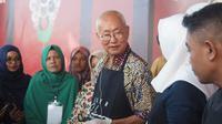 Pagelaran Aceh Culinary Festival (ACF) 2019 yang dibuka, Jumat (5/7), langsung diserbu wisatawan yang berburu kuliner.