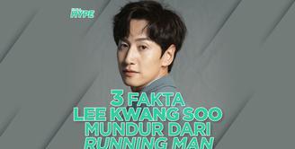 Apa alasan Lee Kwang Soo mundur dari program Running Man? Yuk, kita cek video di atas!