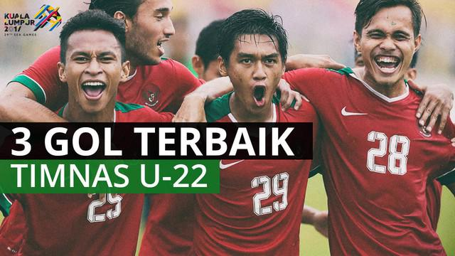 Berita video mengenai 3 gol terbaik yang dibuat oleh Timnas Indonesia U-22 pada perhelatan SEA Games 2017.