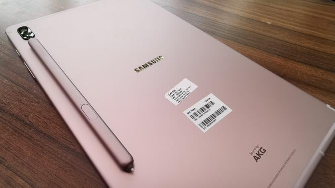 Galaxy Tab S6 (Foto: Andina Librianty / LIputan6.com)