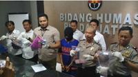 Akhir pelarian predator anak asal Tulungagung, 50 anak jadi korban. (Liputan6.com/Dian Kurniawan)