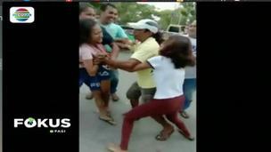 Viral 2 Gadis Ambon Berkelahi Rebutan Pacar (Fokus Pagi)