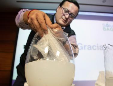 Plastik Ramah Lingkungan yang Bisa Larut Dalam Air