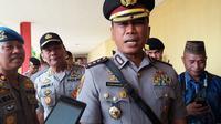 Kapolrestabes Makassar, Kombes Pol Yudhiawan Wibisono mengatakan pihaknya sedang menyelidiki bau korupsi pada kegiatan hibah 4000 picis APD Covid19 di RSUP Wahidin Sudirohusodo Makassar (Liputan6.com/ Eka Hakim)
