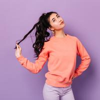 Ilustrasi rambut keriting/copyright shutterstock