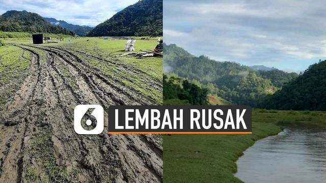 Beredar video spot Wisata Lembah Salimbongan rusak parah. Ternyata ini dia penyebabnya.