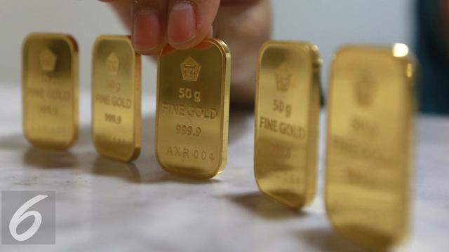 Awali Pekan Harga Emas Antam Turun Jadi Rp 629616 Per Gram