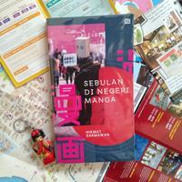 Buku Sebulan di Negeri Manga./Copyright shutterstock.com
