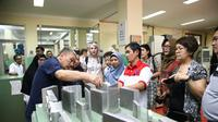 Delegasi Kirgizstan mengunjungi BLK Bandung dan BLK Lembang, Selasa (19/11), (Foto:@Kemnaker)