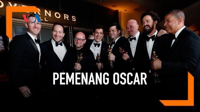 "Acara penghargaan the Academy Awards ke-91 hari Minggu berlangsung tanpa seorang pembawa acara utama. Dalam acara di Los Angeles, Amerika Serikat itu film ""Green Book"" yang dibintangi aktor Mahershala Ali terpilih sebagai Film Terbaik tahun ini."