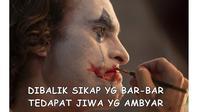 5 Meme Film Joker Ini Benar Adanya, Sesuai Realita Kehidupan (sumber: twitter.com/bagaswah_)