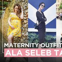 Maternity Outfit ala Seleb Tanah Air