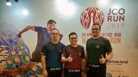 Kegiatan J.CO RUN 2019 akan diadakan di Indonesia Convention Exhibition (ICE) BSD, Tangerang, Banten. (Foto: Liputan6.com/Giovani Dio Prasasti)