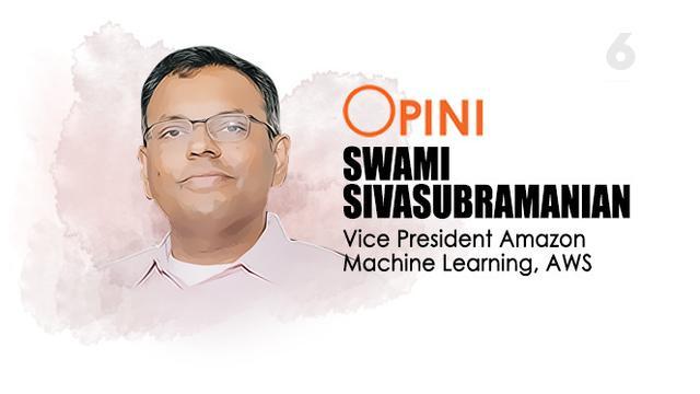 Swami Sivasubramanian, Vice President, Amazon Machine Learning, AWS. Liputan6.com/Abdillah