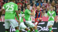 VfL Wolfsburg vs Bayern Munchen (EPA/Andreas Gebert)