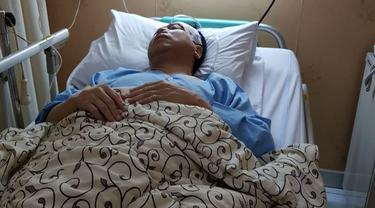 Beredar foto Ketua DPR RI Setya Novanto sedang dirawat di rumah sakit, Kamis (16/11/2017)