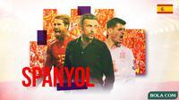 Piala Eropa 2020 - Profil Tim Spanyol (Bola.com/Adreanus Titus)