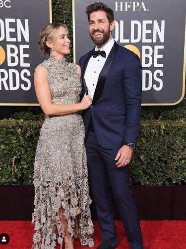 Emily Blunt dan Suami