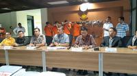 Jajaran Direktorat Tindak Pidana Siber Bareskrim Polri menangkap empat karyawan PT Vcard Technology Indonesia (Vloan). (