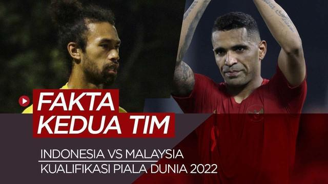 Berita video fakta menarik jelang Timnas Indonesia vs Malausia di kualifikasi Piala Dunia 2022.