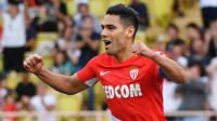 2. Radamel Falcao (AS Monaco) - 13 Gol (3 Penalti). (AFP/Yann Coatsaliou)