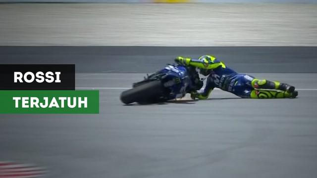 Berita Video Rossi Terjatuh dan Gagal Naik Podium di Moto Gp Malaysia