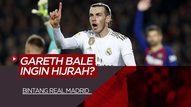 Berita Video tentang Bintang Real Madrid, Gareth Bale Ingin Bermain Di MLS
