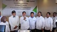 PT Pegadaian (Persero) menjalin kerja sama dengan tiga perusahaan BUMN.