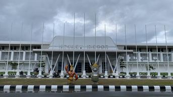 Intip Persiapan Venue Eksibisi Esports PON XX Papua 2021 di Hockey Indoor Doyo Batu