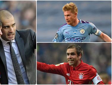 Lionel Messi dan 5 Pemain Bintang yang Bersinar di Tangan Pep Guardiola