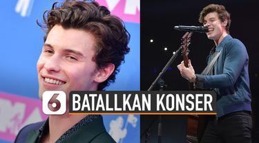 Alasan Shawn Mendes Batalkan Konser