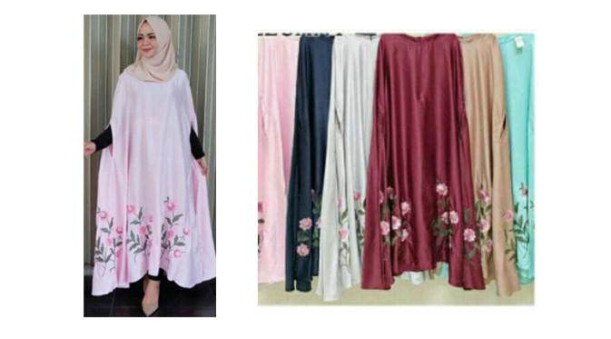 Kaftan Flower Silk