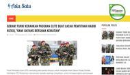 [Cek Fakta] Hoaks Turki Kerahkan Pasukan Elite Untuk Lacak Pemfitnah Rizieq Shihab