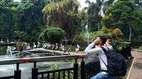 Pengunjung di Taman Margasatwa Ragunan meningkat saat libur panjang. (Istimewa)