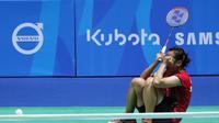 Tunggal Putri Indonesia Hanna Ramadini lolos ke final SEA Games 2015 Singapura (Humas PP PBSI)