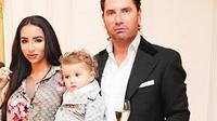 Natasha Grano Dengan Suami Dan Anaknya. (Foto: Instagram/Natasha Grano)