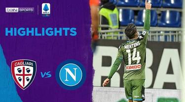 Berita Video Highlights Serie A, Napoli Menang Tipis 1-0 Atas Cagliari
