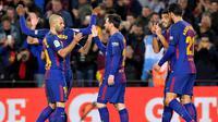 Barcelona Vs Celta Vigo (AFP/Lluis Gene)