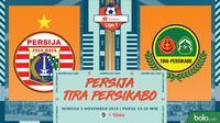 Shopee Liga 1 - Persija Jakarta Vs Tira Persikabo (Bola.com/Adreanus Titus)
