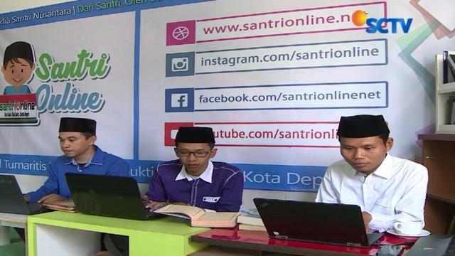 Santri Online sudah memiliki ratusan ribu netizen dari dalam dan luar negeri.